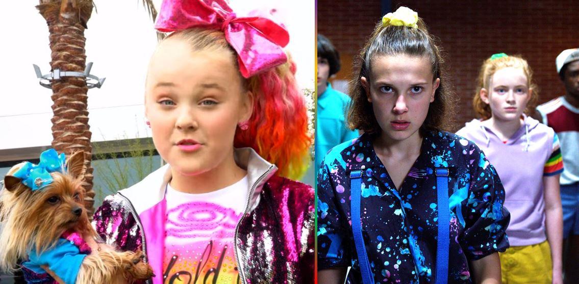 "JoJo Siwa and ""Stranger Things"" cast shine at 2020 Kids' Choice Awards"